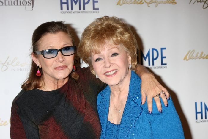 A public memorial for Carrie Fisher and Debbie Reynolds is happening