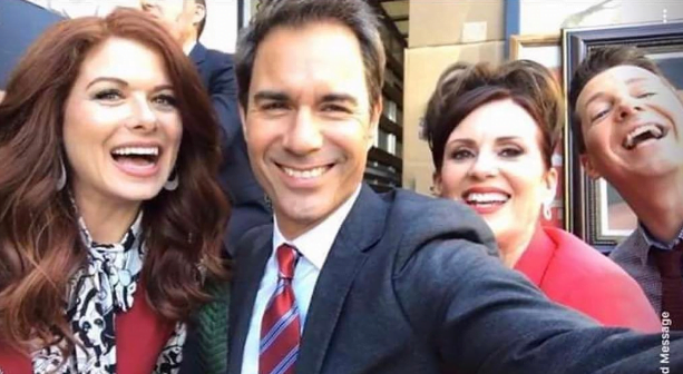 Will & Grace Cast Share Personal Pics From Revival Filming