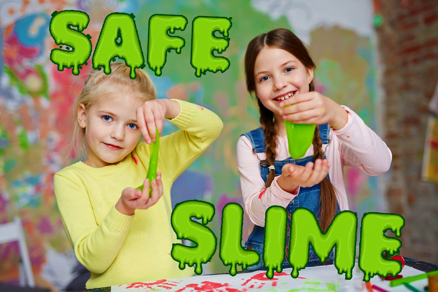 Easy, Safe to Handle Slime Recipe