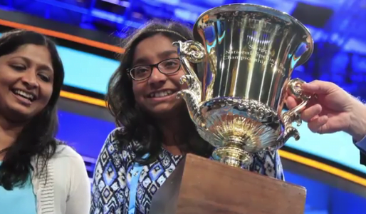 We have a new National Spelling Bee winner!  See what she won: