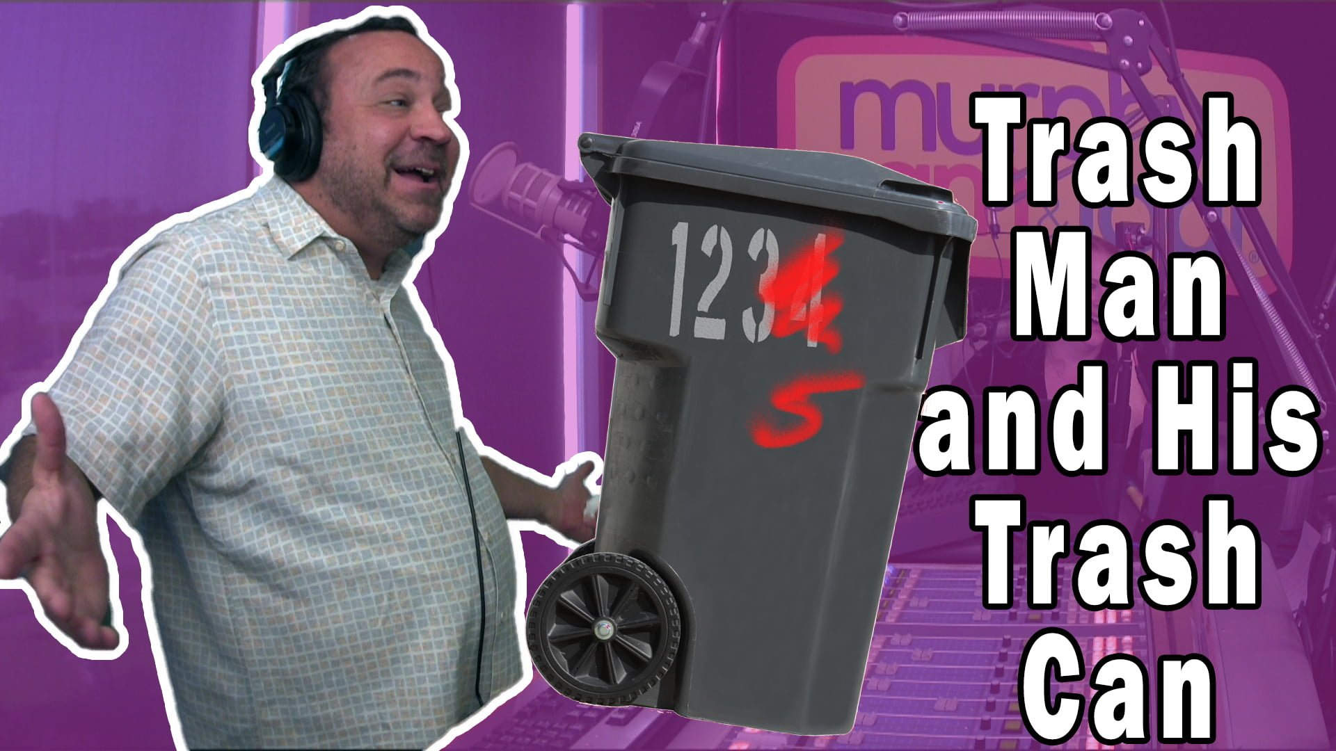 WATCH: How Murphy Never Misses Trash Day