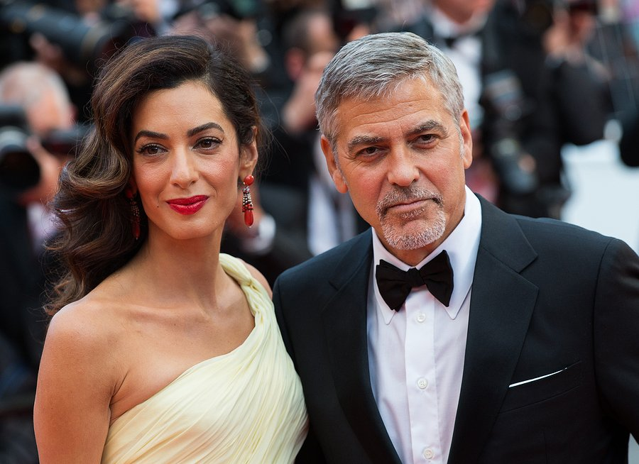 George Clooney is NOT happy about published photos of his twins
