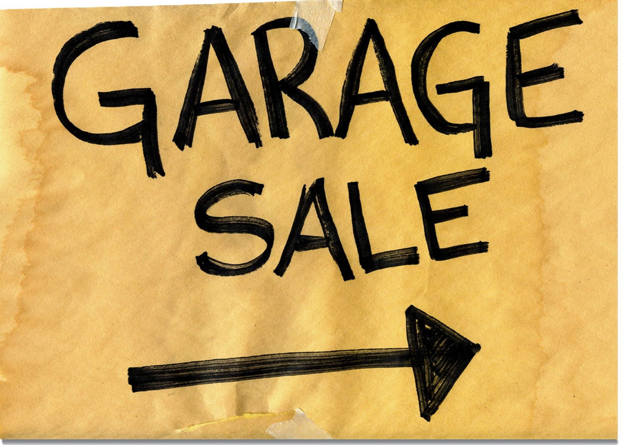 PODCAST: The Garage Sale Is Officially Happening