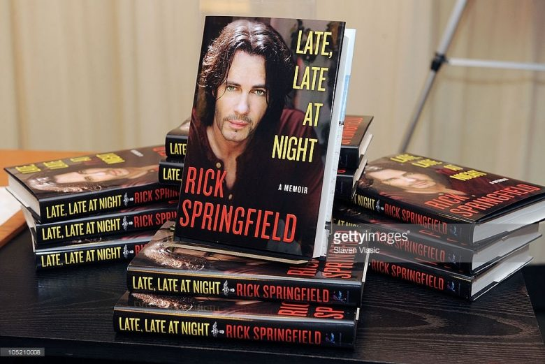 'LATE, LATE AT NIGHT' BY RICK SPRINGFIELD
