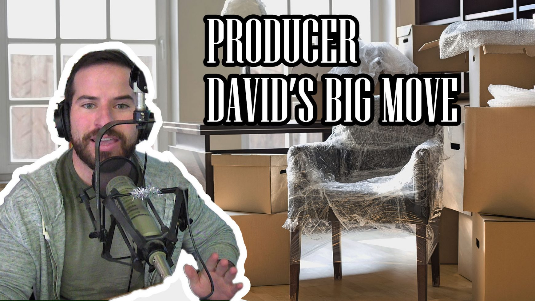 LISTEN: PRODUCER DAVID'S BIG MOVE
