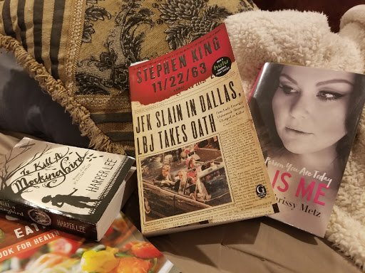 AFTER THE SHOW: What Jodi is reading now.