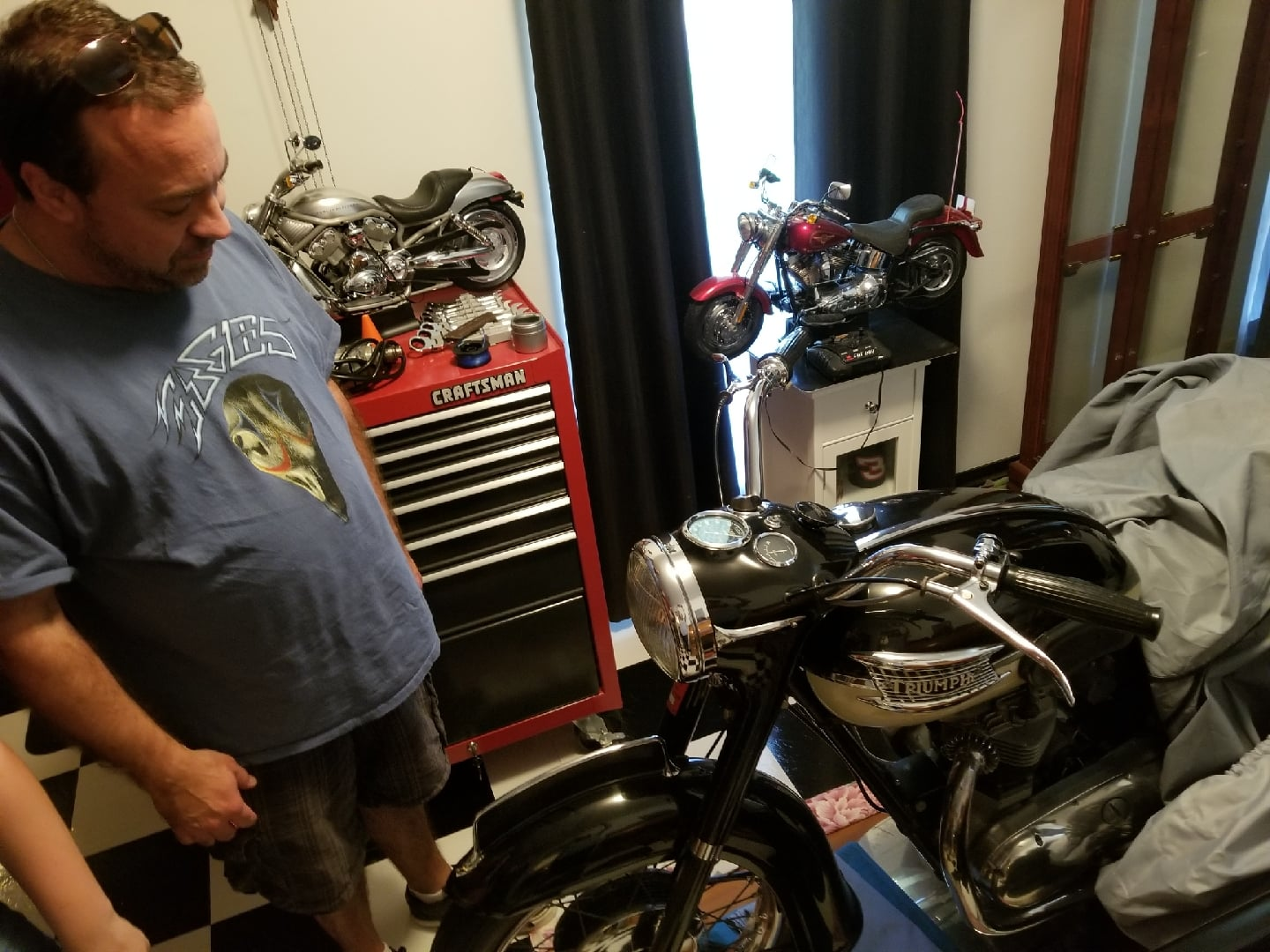 AFTER THE SHOW:Dad's Motorcycle