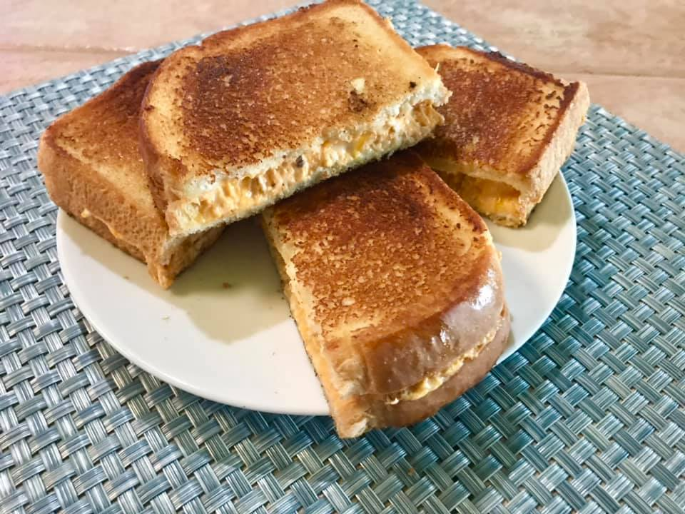 Disney Buffalo Chicken Grilled Cheese